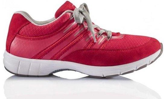 Gabor Dames Lage sneakers – rood – Maat 37