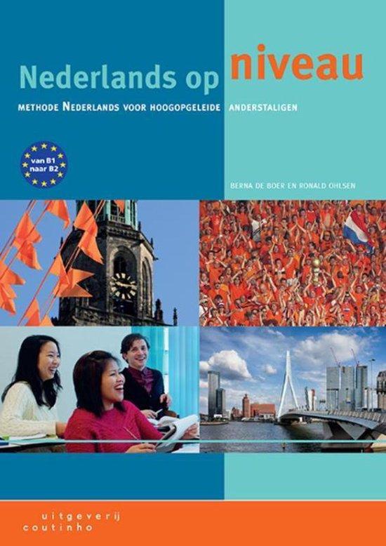 Boek cover Nederlands op niveau van Berna de Boer (Paperback)