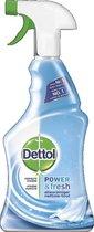 Dettol Power & Fresh - Allesreiniger Spray - Perfecte Hygiene - 500 ml