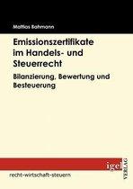 Emissionszertifikate im Handels- und Steuerrecht