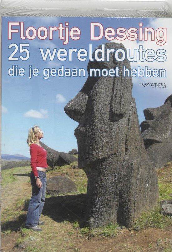 Cover van het boek '100 Wereldplekken + 25 Wereldroutes' van Floortje Dessing