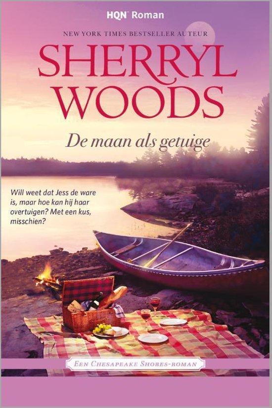 Cover van het boek 'De maan als getuige' van Sherryl Woods