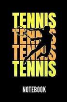 Tennis Notebook