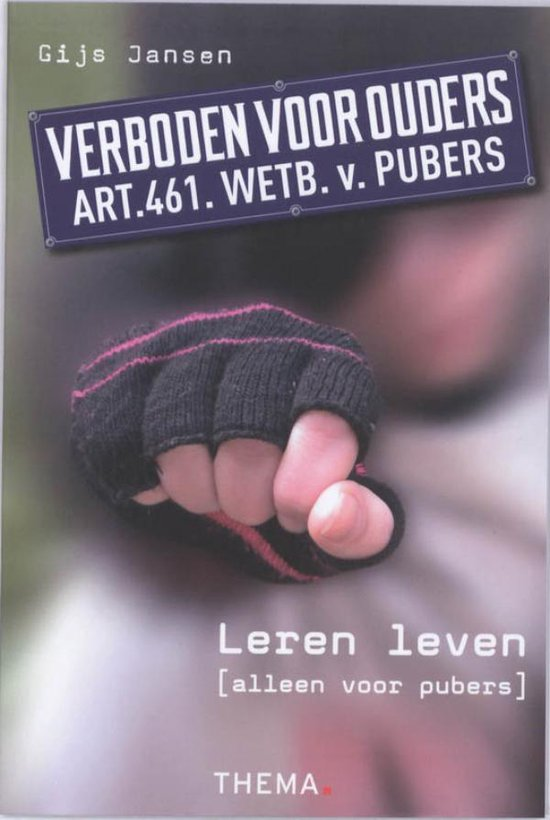 Verboden voor ouders - Gijs Jansen  