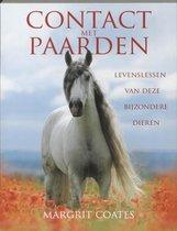 Boek cover Contact met paarden van Margrit Coates (Paperback)
