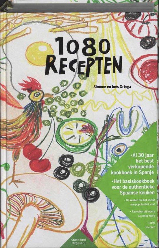 Cover van het boek '1080 Recepten' van S. Ortega en I. Ortega