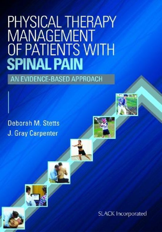 Boek cover Physical Therapy Management of Patients with Spinal Pain van Deborah M. Stetts (Paperback)