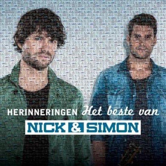 CD cover van Herinneringen - Het Beste Van 2Cd van Nick & Simon