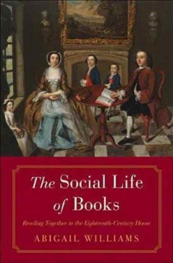Boek cover The Social Life of Books van Abigail Williams (Hardcover)