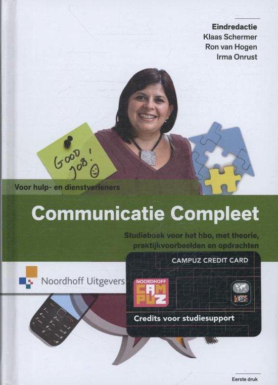 Communicatie compleet - R. van Hogen |