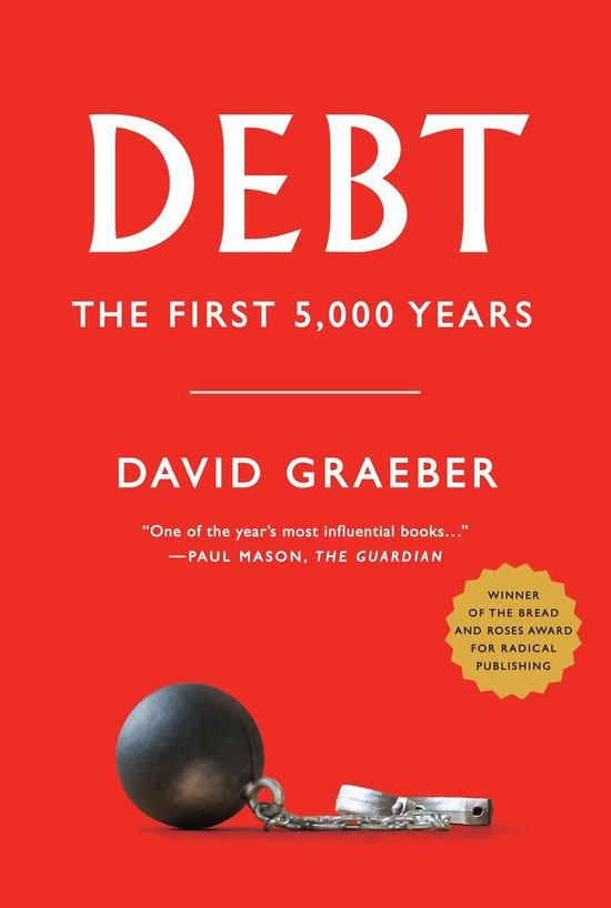 Boek cover Debt van David Graeber (Paperback)