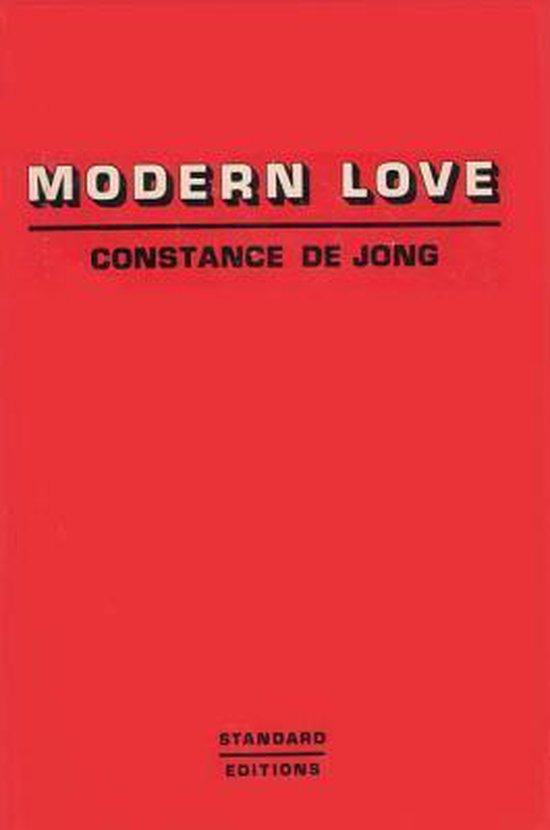Boek cover Modern Love van Constance Dejong (Paperback)
