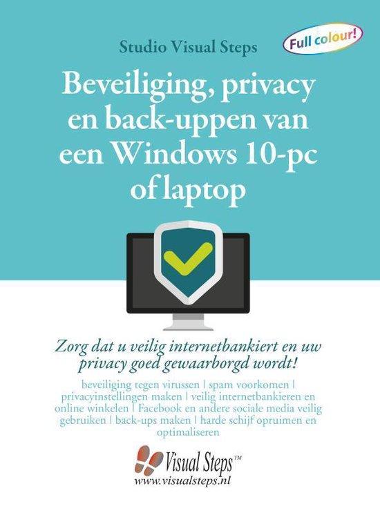 Beveiliging, privacy en back-uppen van een Windows 10-pc of laptop - Studio Visual Steps  