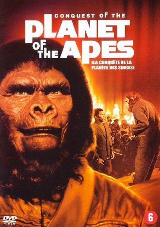 Cover van de film 'Conquest Of The Planet Of The Apes'