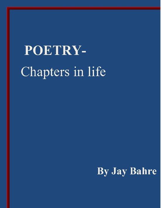 Omslag van Poetry- Chapters in life