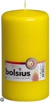 Bolsius stompkaars geel 150/80 (per stuk)