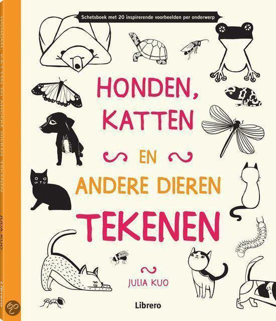 Honden, katten en andere dieren tekenen - Julio Kuo  