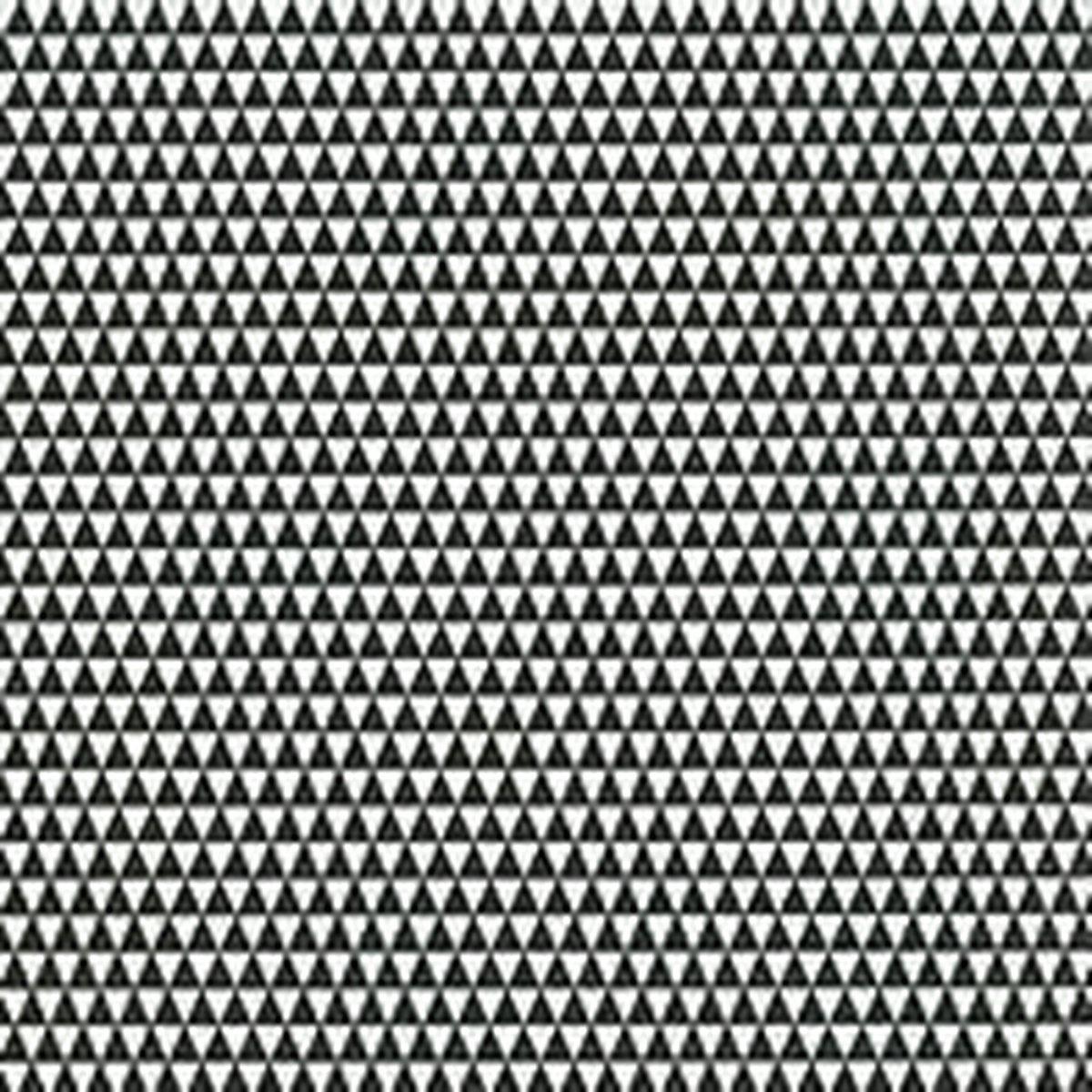20x Servetten zwart/wit driehoekjes 33 x 33 cm - driehoekjes tafeldecoratie servetjes - Motief thema papieren tafeldecoraties - Merkloos