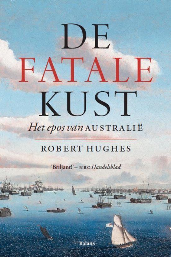 Boek cover De fatale kust van Robert Hughes (Hardcover)