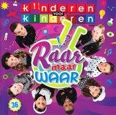 CD cover van Deel 36 Raar Maar Waar van Kinderen voor Kinderen