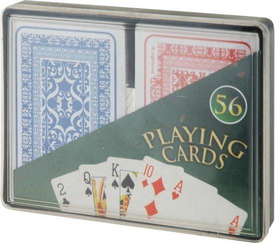 Afbeelding van het spel Free And Easy Speelkaarten 2 Sets Blauw/rood