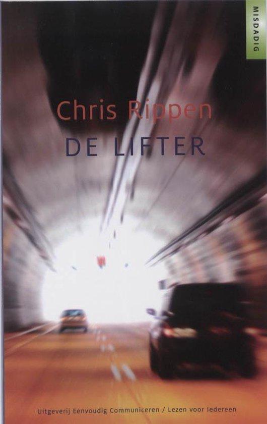 Cover van het boek 'De lifter' van Chris Rippen