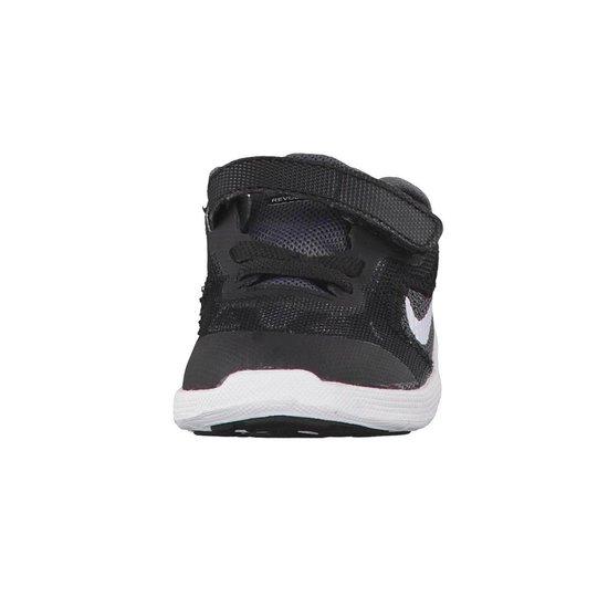 Nike Revolution 3 (TDV) Sportschoenen - Maat 21 - Unisex - grijs/wit - Nike