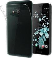 HTC U Play Transparant TPU Siliconen case hoesje