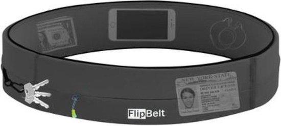 Flipbelt Rits Donkergrijs - Running belt - Hardloopriem - S