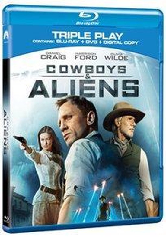Cover van de film 'Cowboys & Aliens'
