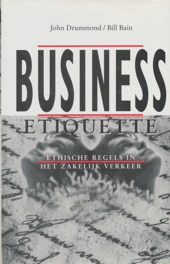 Business etiquette - Bill Bain |