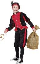 Pieten kostuum kinderen rood (4-6 jaar) - Carnavalskleding