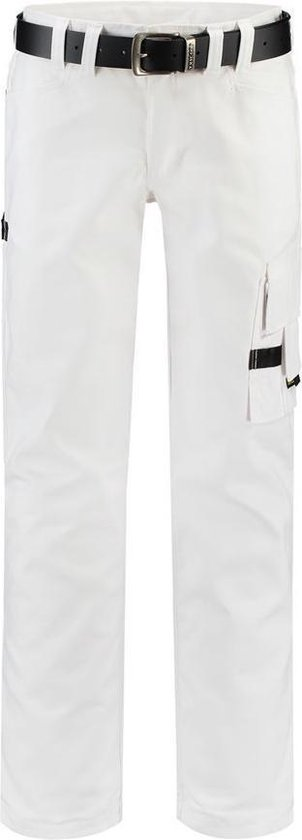 Tricorp Worker canvas - Workwear - 502007 - Wit - maat 47