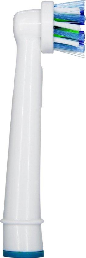Oral-B Cross Action - Opzetborstels - 4 stuks