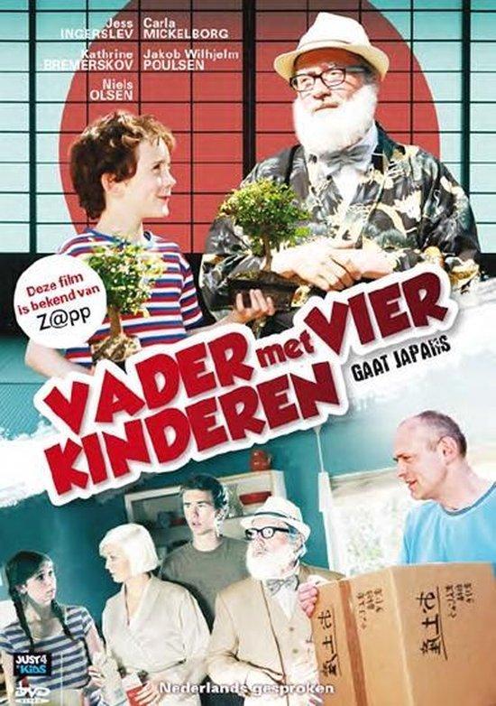 Cover van de film 'Vader Met 4 Kinderen - Gaat Japans'