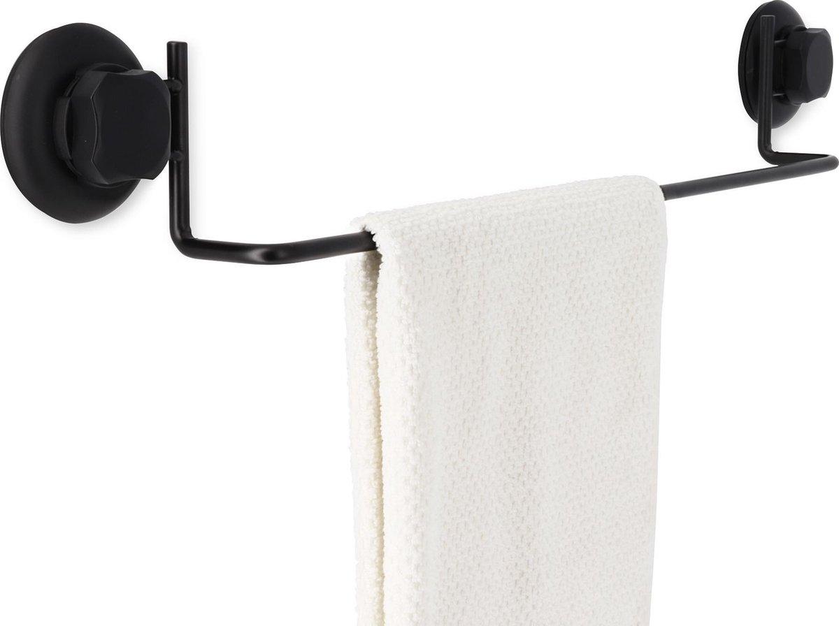 Compactor Handdoekhouder Bestlock 60,6 Cm Rvs Zwart