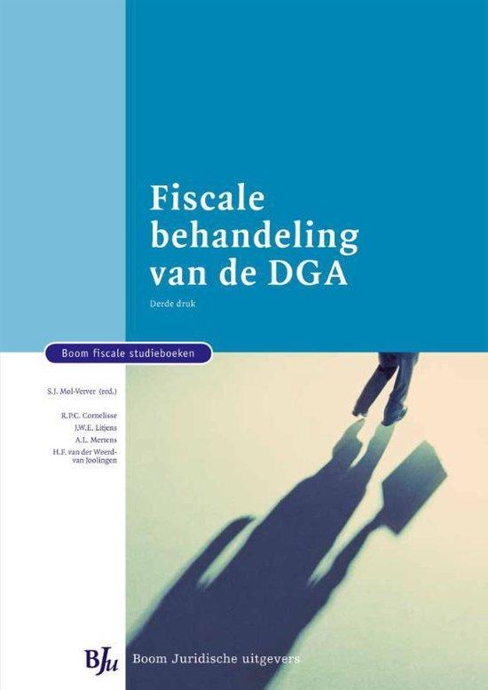Fiscale behandeling van de DGA - Suzanne Mol-Verver |