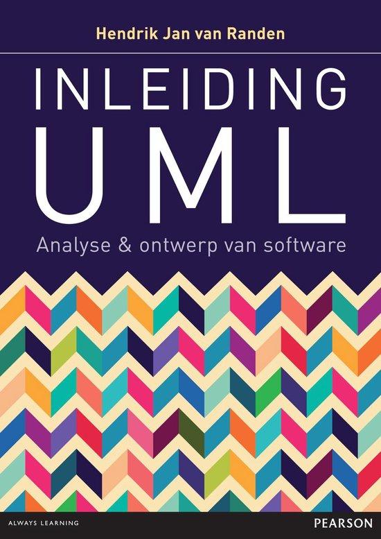 Cover van het boek 'Inleiding UML'