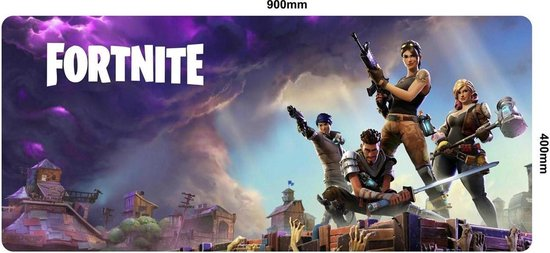 Fortnite Gaming Muismat - Extended Gaming Mousepad | XXL 90x40 cm