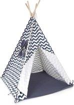 Tipi tent Bandits Indian blauw
