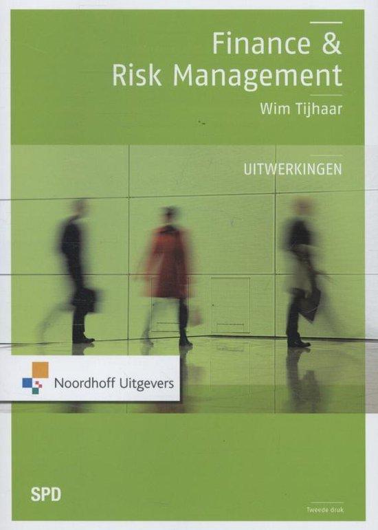 Finance en risk management - Uitwerkingen - W.A. Tijhaar |