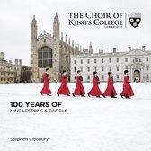 CD cover van 100 Years Of Nine Lessons & Carols van Kings College Cambridge David Wi