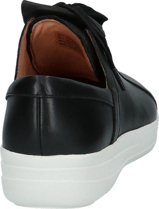 Fitflop - F-sporty Ii Lace Up Fringe Sneakers Sneaker Laag Gekleed Dames Maat 40 Zwart;zwarte J96-001 -black Leather Xmt4oO