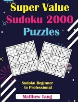 Super Value Sudoku 2000 Puzzles