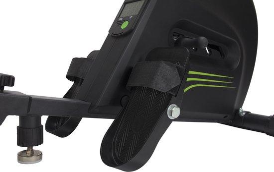 Roeitrainer - VirtuFit Row 1.0 - Roeimachine - Roeiapparaat - Inklapbaar - Zwart