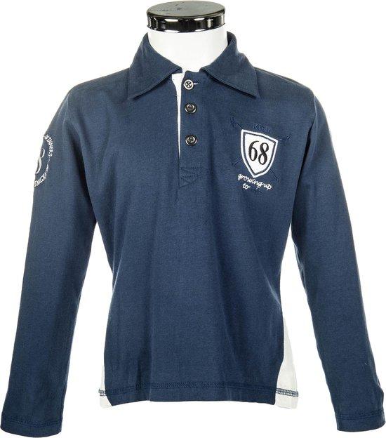 Poloshirt -King- donkerblauw 122/128