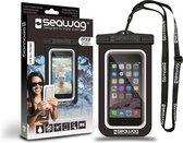 Seawag Waterdichte Smartphone Beschermhoes Zwart/wit 5,7 Inch