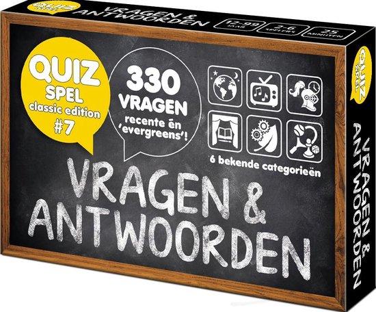 Afbeelding van het spel Vragen & Antwoorden #7 - Trivia Quiz en Aanvulset