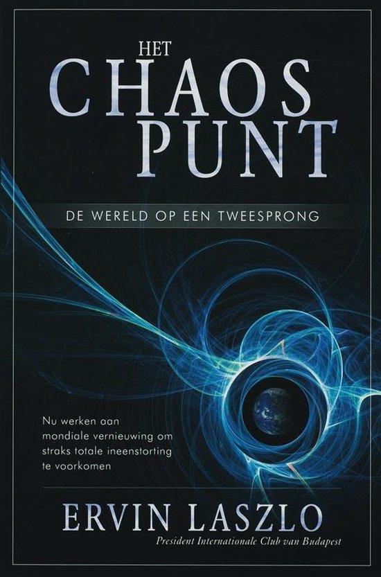 Boek cover Het Chaospunt van Ervin Laszlo (Paperback)