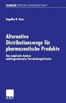 Alternative Distributionswege Fur Pharmazeutische Produkte